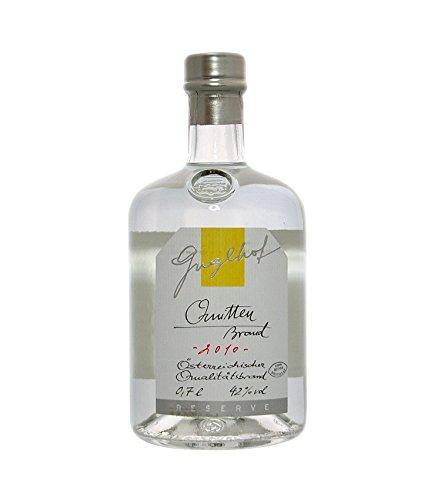 Guglhof: Quitten Brand - Jahrgangsbrand / 42% Vol. / 0,7 Liter - Flasche