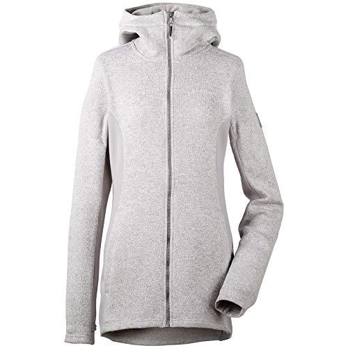 Didriksons Damen Merra Fleece-Jacke aus Aluminium 42