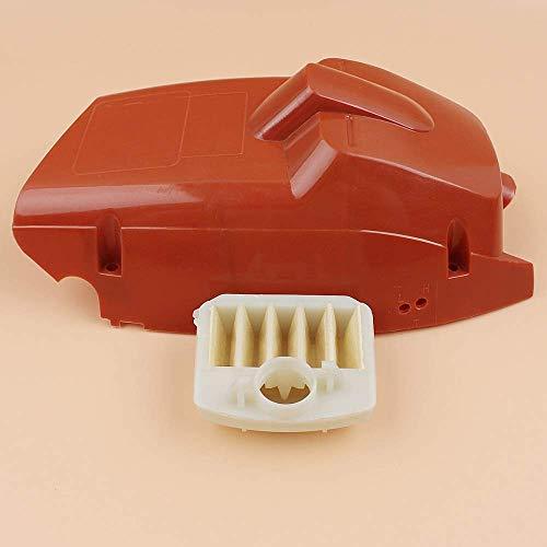 HaoYueDa Kit de Filtro de Aire de Cubierta de Cilindro Superior Compatible con Motosierra Husqvarna 340345350 503910501/537024002