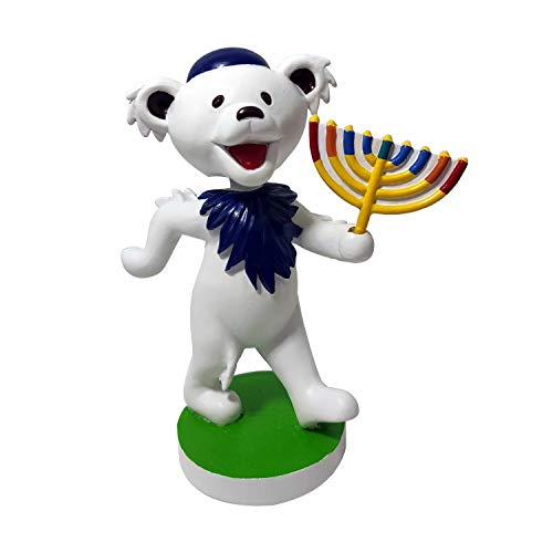 Grateful Dead Dancing Bear Hanukkah Bobblehead