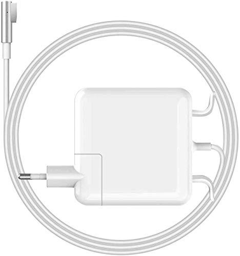 Ywcking Chargeur Mac Book Pro 60W, Mag Safe 1 Compatible avec Mac Pro 13 Pouces 2008 2009 2010 2011 à Mi-2012, Chargeur en L-Tip Magnétique pour A1278 A1181 A1184 A1344 A1330 A1342 etc