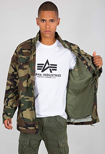 Alpha Industries M-65 Jacke Camouflage M