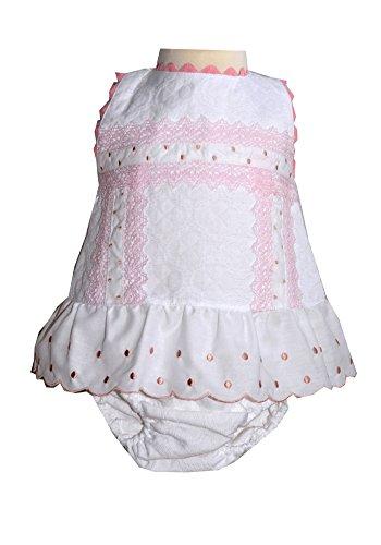 Babylis Baby Sommerkleid für Mädchen in 62, 68 und 80 (62)