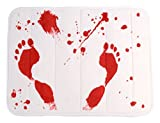 "Bloody Shower Mat, (23.5"" x 17"")"