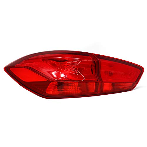 Achterlichten folie set stickers kleurfolie achterlichten op maat gesneden auto achterlichten rood (C044)