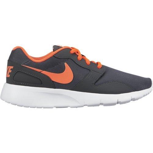 Nike Kaishi (GS) Calzatura, Bambino, Grigio/Arancione/Bianco, 35.5
