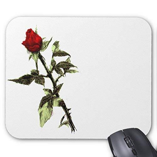 Mousepads Knospe der roten Rose Bleistift-Maus-Matte