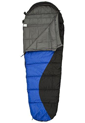 CAMPZ Desert Pro 300 Schlafsack blau/schwarz Ausführung Right Zipper 2020 Quechua Schlafsack