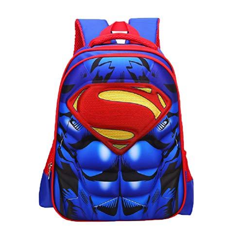 Samanthajane Clothing - Mochila Infantil Rojo Superman