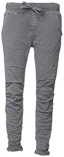Basic.de Cotton Stretch-Hose im Jogging-Pant Style Anthrazit L