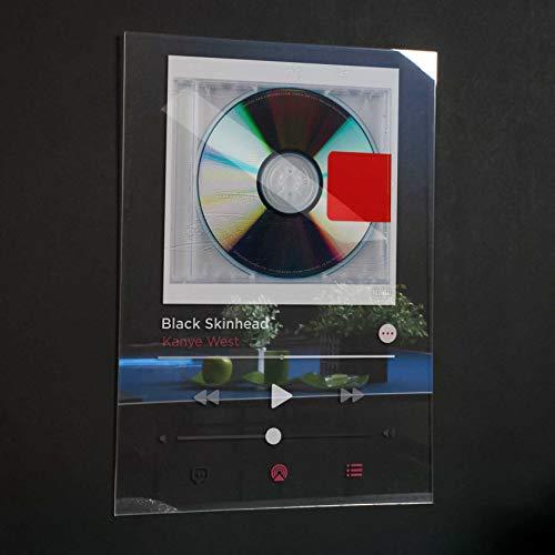 Kanye West - Yeezus Acrylic Plaque Modern Poster Spotify/Apple music Unique Gift Idea Transparen Album Cover Home Decor