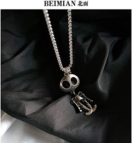 BACKZY MXJP Halskette Alien Halskette Männlich Anhänger Weiblich
