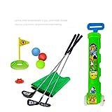 sowofa Juego de Juguetes de Golf para niños con Carrito de Golf Putting Mat 11 PCS