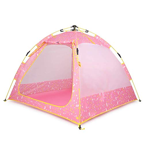 Barir Kids Castle Tent For Children Play As Boys And Girls Giftt Toy For Birthday And Christmas Indoor And Outdoor (pink)