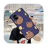 Coque pour Samsung S5 S6 S7 S8 S9 S10 S20 S21 Edge Plus E Fe Lite Fundas Cover-a5-Samsung 9 Plus
