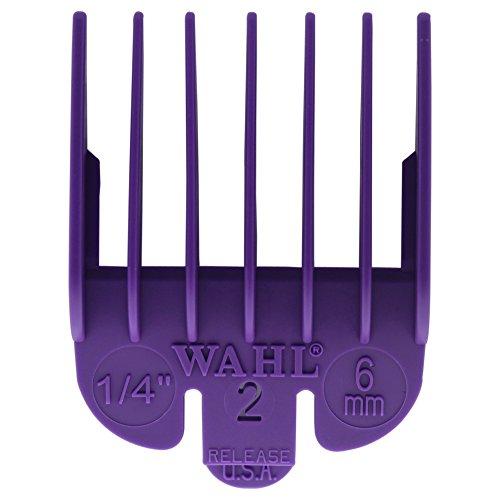 Wahl Professional Color Coded Comb Attachment #3124-703  Purple #2  1/4