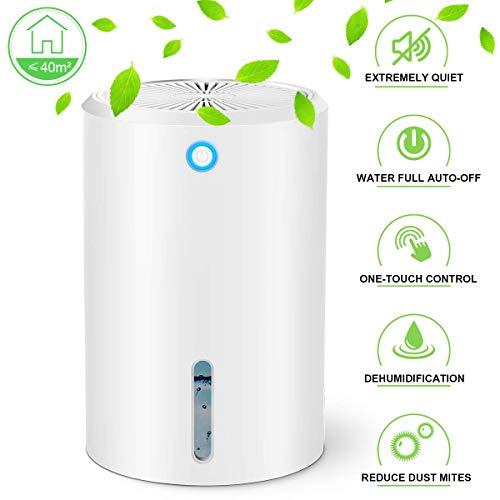 HOODIE Luftentfeuchter Mini Electric 900Ml, Entfeuchter Absorbieren Wasser, Automatische Abschaltung, Ultra-Quiet Luftreiniger Für Haus, Küche, Garage, Schrank, Keller