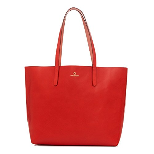 La Portegna - Olivia Umhängetasche aus Leder für Damen, hochwertiges handgemachtes Design