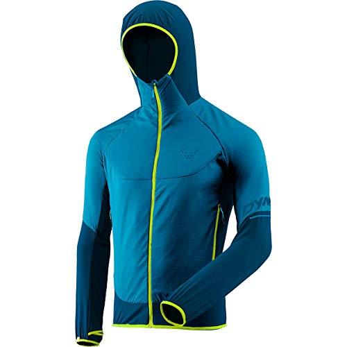 DYNAFIT M Transalper Hybrid Polartec Alpha Jacket Blau, Herren Polartec Jacke, Größe XL - Farbe Mykonos Blue