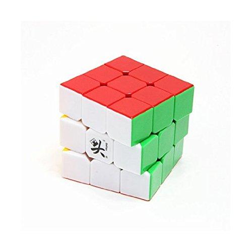 DaYan 5 ZhanChi 3×3×3 スピードキューブ 57mm 6色 組立済(海外配色) [並行輸入品]