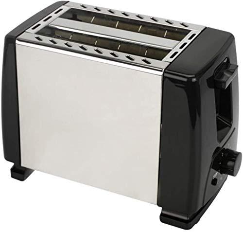 LXDDP Tostadora automática, tostadora con Ranuras Ancho Ancho 2X para Discos hasta 4X, escalones Seda 6X con Rollo Caliente