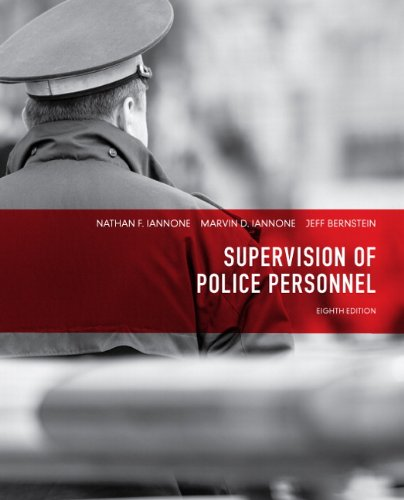 Supervision of Police Personnel (8th Edition)
