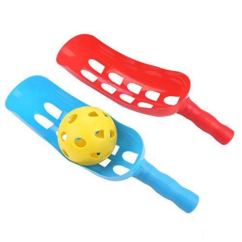 Juego de Bolas de Cuchara, Juego de Bolas de Captura de plástico, ABS Interactivo, Fuerte y Duradero, Capacidad de reacción de los niños para Mejorar la interacción Familiar
