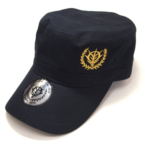 Gundam Zeon - Embroidery Work Cap (Black)