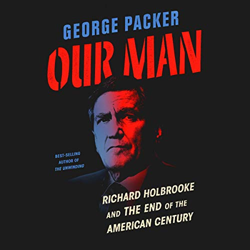Our Man audiobook cover art