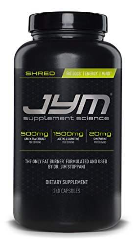 JYM Supplement Science Shred Capsules, Pack of 240
