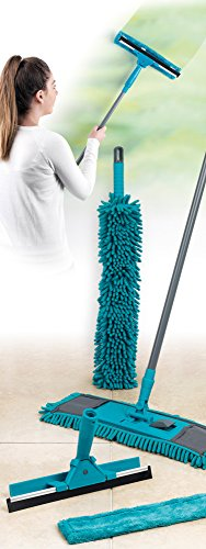 Beldray LA026798 7 Piece Duster and Mop Cleaning Set