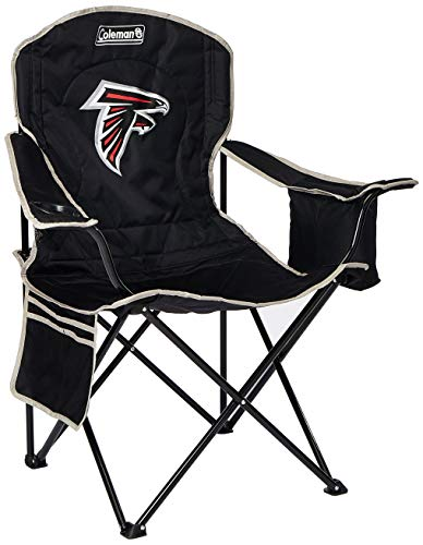 COLEMAN NFL Cooler Quad Chair, Noir