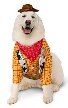 Rubie's Disney Déguisement pour Animal de Compagnie, Big Dog Woody, XXXL (201002_XXXL)