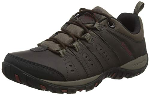 Columbia Herren Woodburn Multisport-Schuh, Brown, 46 EU