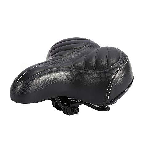 WZ YDTH fietszadel Comfort Plus groot, schokbestendig, MTB-zadel met een hoog design, ademend, fietszadel van PU, ademend, zitkussen voor fietsstoelen, zacht