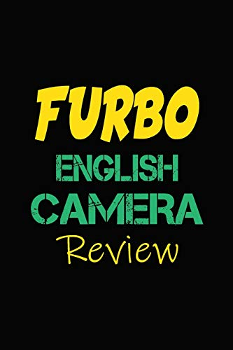 Furbo English Camera Review: Blank Lined Journal for Dog Lovers, Dog Mom, Dog Dad and Pet Owners