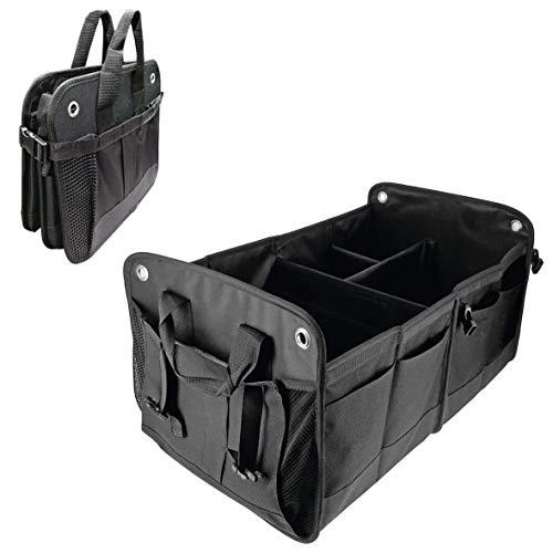 Sumex 1 Organiseur de coffre de voiture pliable avec plusieurs compartiments