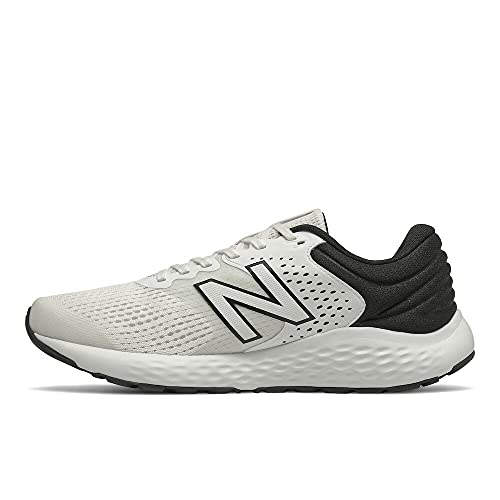 Contemporary Steadiness Males's 520 V7 Running Shoe, White/Gloomy, 11.5 thumbnail