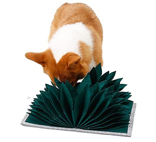 Tallgoo Perro olfatea la Alfombra.Juguetes interactivos para Perros,comedero de Mascota,Almohadilla para olfatear Mascotas, Juguetes Interactivos para Perros