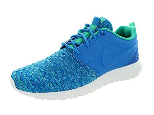 Nike Roshe NM Flyknit PRM Mens Running Trainers 746825 Sneakers Shoes (UK 8.5 US 9.5 EU 43, Photo Blue soar Atomic Teal 400)