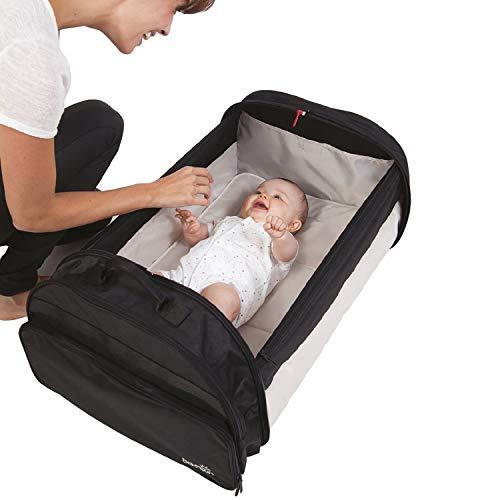 BabySun Lit de Voyage Bébé/Sac à Langer/Couffin Nomade Simple Bed, 0-6 Mois, Légèr