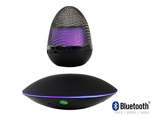 Grand Illusions New Levitating/Floating Wireless Portable Bluetooth Speaker with HD Sound and Bass- Best Portable Bluetooth Speakers