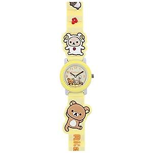サンエックス リラックマ キッズウォッチ デコウォッチ 腕時計 kids Watch キャラクターウォッチ 子供腕時計