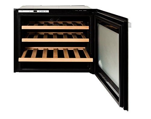 Wine Fridge/Cooler - Integrated - 24 Bottle Capacity - 60L - LED Display