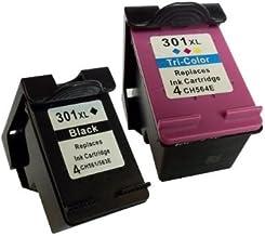 COMBO PACK - Remanufacturados HP 301XL Cartuchos de Tinta