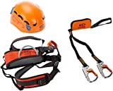 Climbing Technology Plus Kit Ferrata, Casco con Imbrago Set, Multicolore, M-L