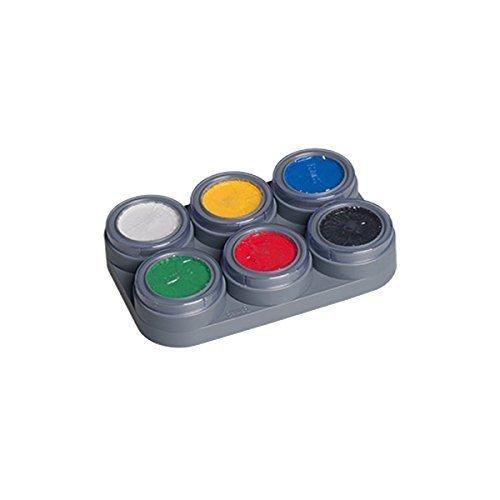 Grimas Water Make up Palette 6 Farben