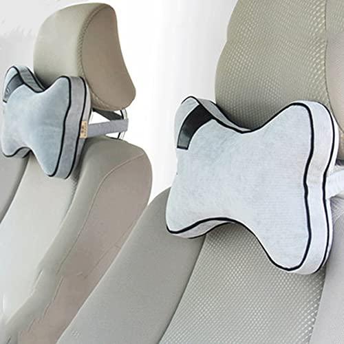 UFFD Reposacabezas Coche Pillow Memory Foam Almohada Cervical para Coche para Conducir, Cómodo y Transpirable. (Color : A, Size : 18cmx28cm)