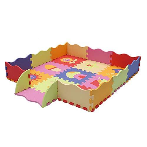 North King Bébé tapis de Jeu,Début mousse incassable de l'enfance pad/épissage mat/game pad