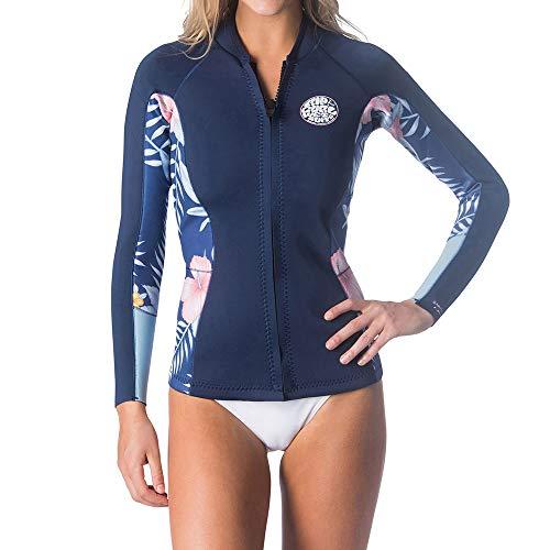 Rip Curl dames Dawn Patrol wetsuit-jas met lange mouwen, neopreen Navy - eenvoudig stretch
